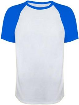 Men-Raglan white-royal | XXL