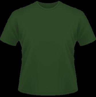 Standard T-Shirt Kinder dunkel grün | 152