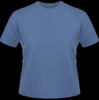 Standard T-Shirt Kinder blau | 116