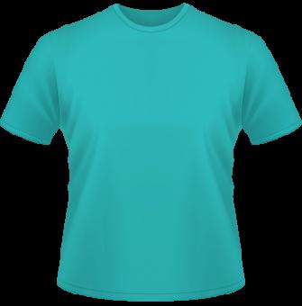 Standard T-Shirt Kinder türkis | 116