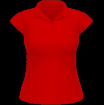 Heavymill Polo Frauen rot | XXL