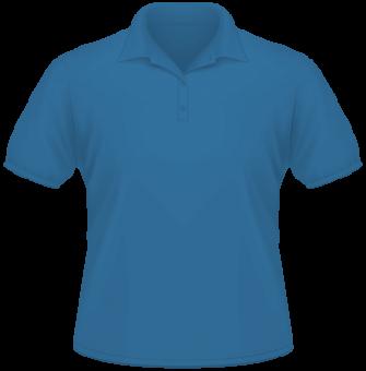Men Heavy Polo blau | XL