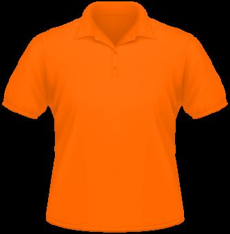 Men Heavy Polo orange | XXL