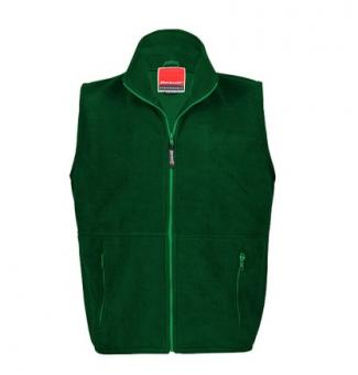 Bodywarmer Fleece Forest Green | L