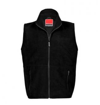 Kids Fleece Bodywarmer Black | 4-6Jahre