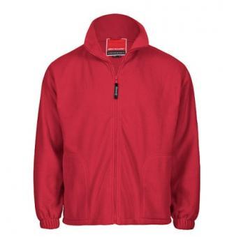 Full Zip Active Fleece Jacket rot | M