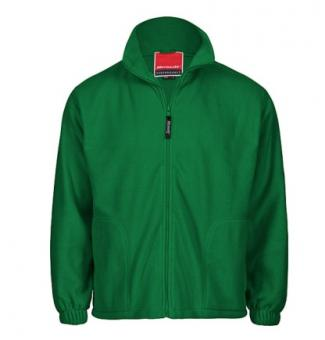 Kids Fleece Jacke forest green | 10-12Jahre