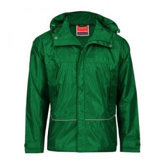 Waterproof Coach Jacket forest  green | S