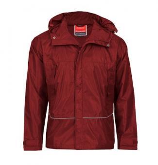 Waterproof Coach Jacket burgundy | XL