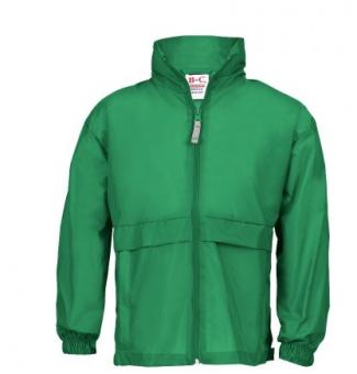 Windbreaker Kids bottle green | 152-164