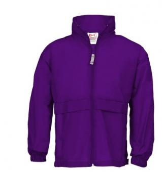 Windbreaker Kids purple   122-128