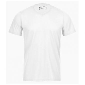 V-Neck T-Shirt Weiss | M