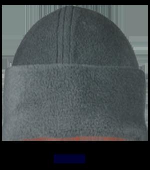 Wintermütze aus Fleece Farbe grau | L