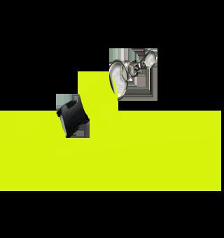 Schlüsselhalsband gelb   uni