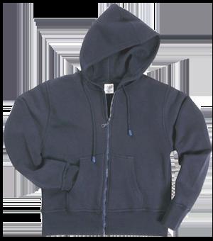 Sweat-Jacke mit Kapuze Women schwarz | XXL