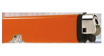 Feuerzeug Flaschenöffner orange | uni
