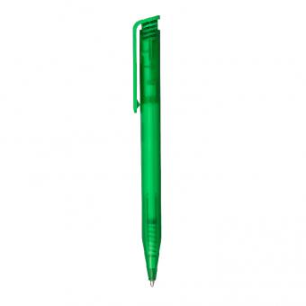 Kugelschreiber Icys Transparent Grün | uni