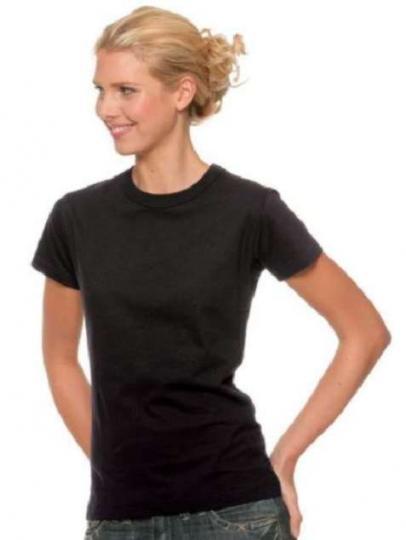 Standard T-Shirt Frauen Braun | M