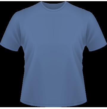 Standard T-Shirt Kinder blau | 140