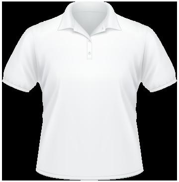 Polo Shirt BIG weiß   4XL