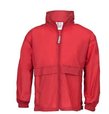 Windbreaker Männer rot   XL