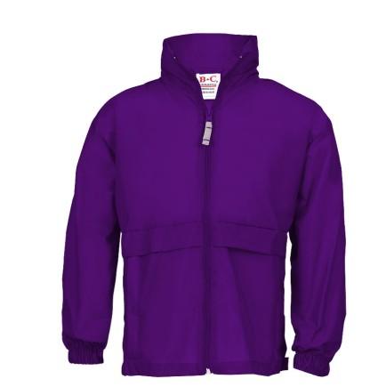 Windbreaker Frauen purple | M