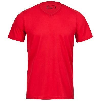 V-Neck T-Shirt Rot | M