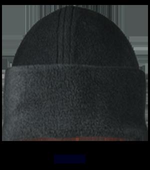 Wintermütze aus Fleece Farbe schwarz   M