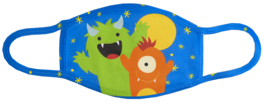 Kinder Maske AllOver Druck – vollflächig gestaltbar