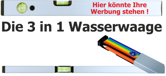 Wasserwaage  3 in 1