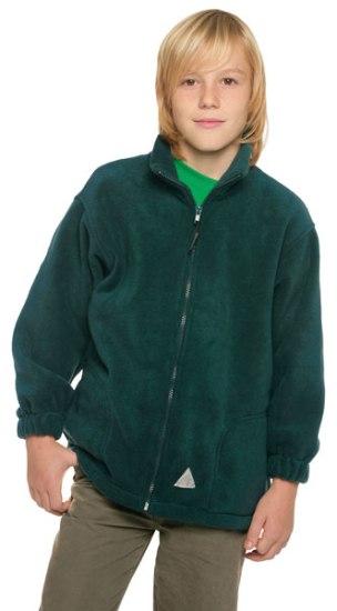finest selection 75bd2 e758f Kids Fleece Jacke