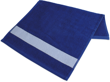 badetuch mit bord re 70 x 140cm royalblau selber gestalten. Black Bedroom Furniture Sets. Home Design Ideas